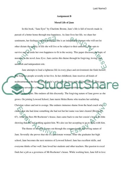 jane eyre essays love The theme of love in charlotte bronte's jane eyre sign up to view the whole essay and download the pdf for anytime access on your computer, tablet or smartphone.