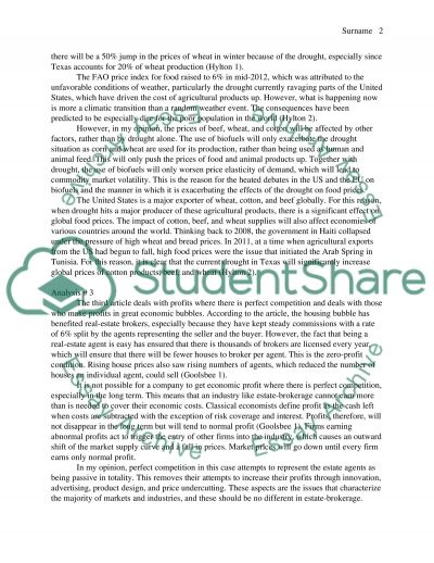 Papers Analysis essay example