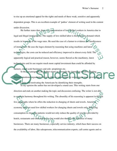 Response essay,incorporate elements of an annotated response
