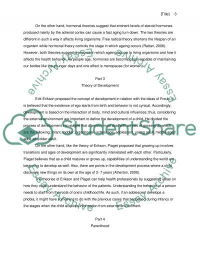 Short answers Written assignment