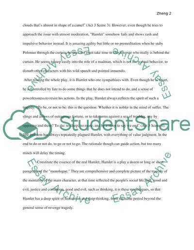 hamlet short essay