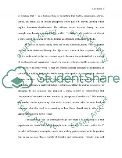 2. The Semantics of I essay example