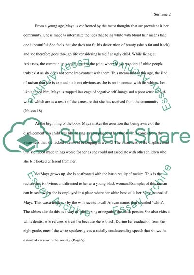 Thesis For Argumentative Essay Maya Angelous Work I Know Why A Caged Bird Sings Sample Essay Paper also Ap English Essays Maya Angelous Work I Know Why A Caged Bird Sings Essay Last Year Of High School Essay