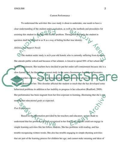 Is Special Education In Trouble >> Special Education Case Study Example Topics And Well Written