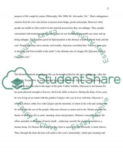Lucretius Short Paper essay example