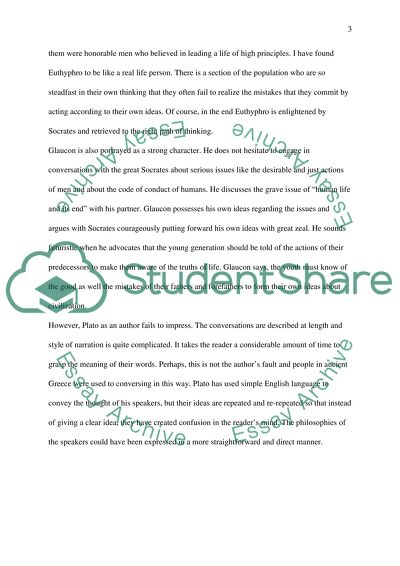 The Socrates' Philosophy Research Paper Example | Topics and Well
