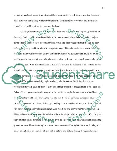 Business Essays Samples Oliver Twist Twisting The Tale Through Film E Business Essay also In An Essay What Is A Thesis Statement Oliver Twist Twisting The Tale Through Film Essay Independence Day Essay In English