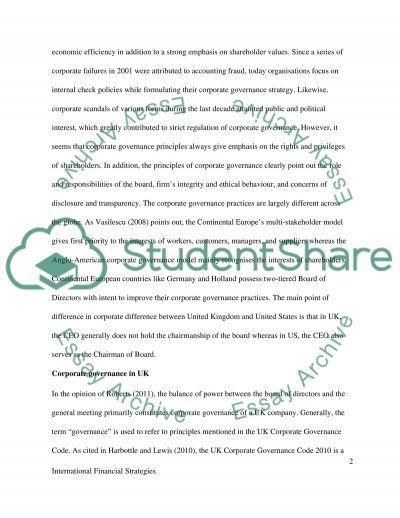 International Financial Strategies essay example