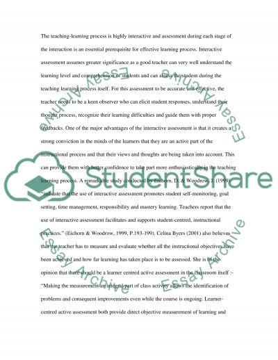 Best Assessment Strategies in Secondary Schools