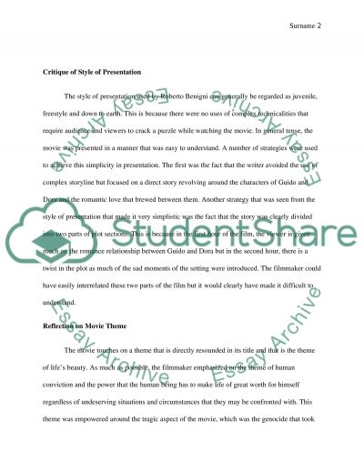 narrative essay papers my hobby essay in english what is a   essay also essay examples of essays for high school reflection paper on a movie life is beautiful by roberto benigni essay example thesis statement