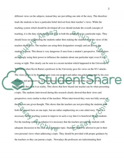 Teaching Method essay example