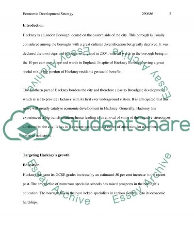 London Borough of Hackney essay example