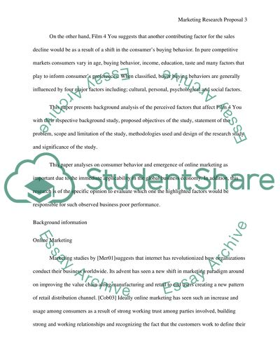 research paper marketing