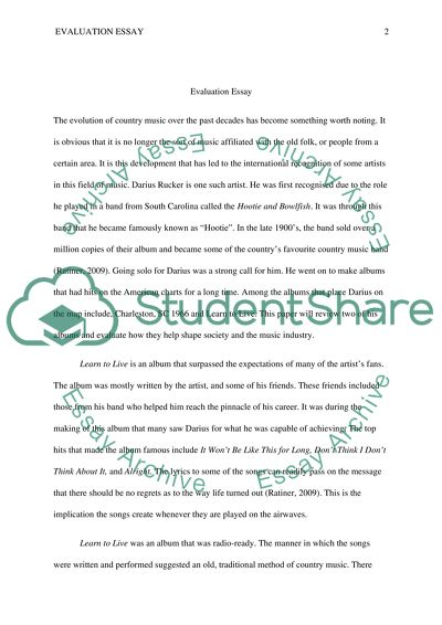 General essay for college students