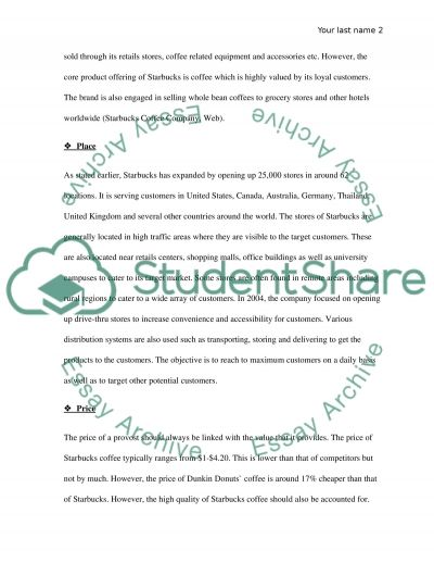 Marketing Strategy Analysis essay example
