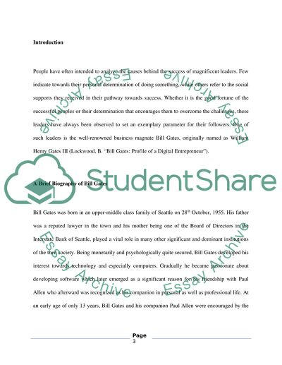 Essay printed materials