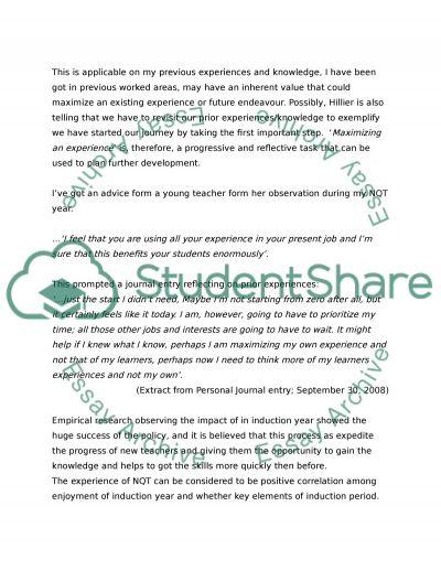 The primary purpose of NQT essay example