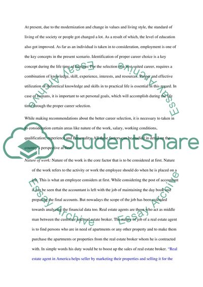 Research Report Assisting A Client In A Career Choice Essay Research Report Assisting A Client In A Career Choice