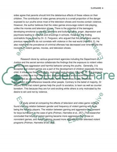 Violence in high schools essay