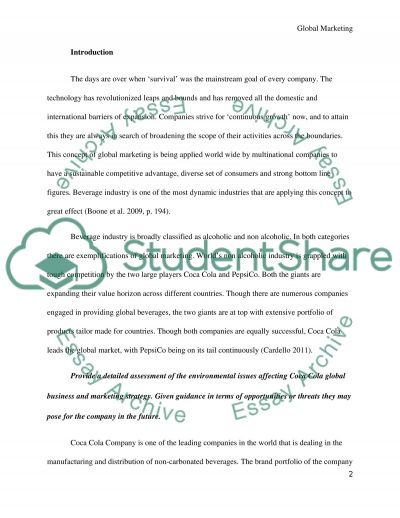 Business and Marketing strategy (case Study) Essay example