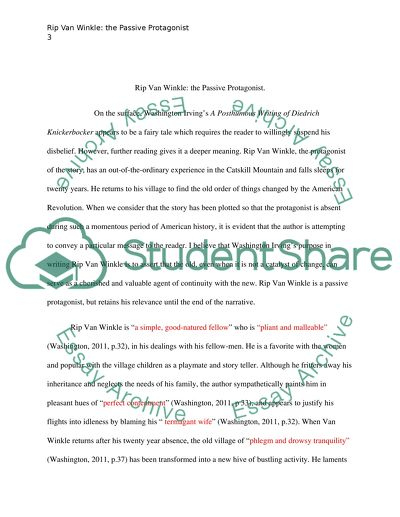 Interesting Persuasive Essay Topics For High School Students Rip Van Winkle Term Paper Essay also 1984 Essay Thesis Rip Van Winkle Essay Example  Topics And Well Written Essays    Best English Essays