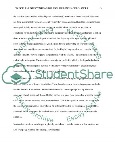 Quantitative Research Article essay example