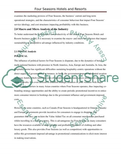 Researching Tourism and Hospitality Operations essay example