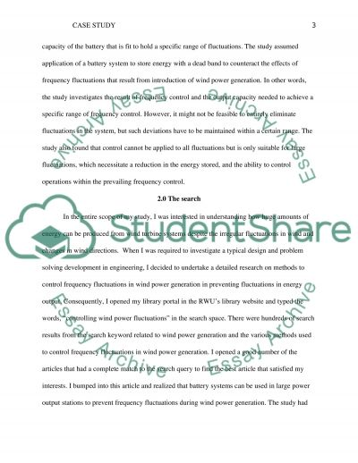 Case study project for Engineering Graphics & Design essay example