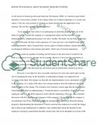 Reflective journal about Building high self-esteem Essay example