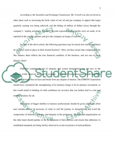 Article Review Essay Essay example