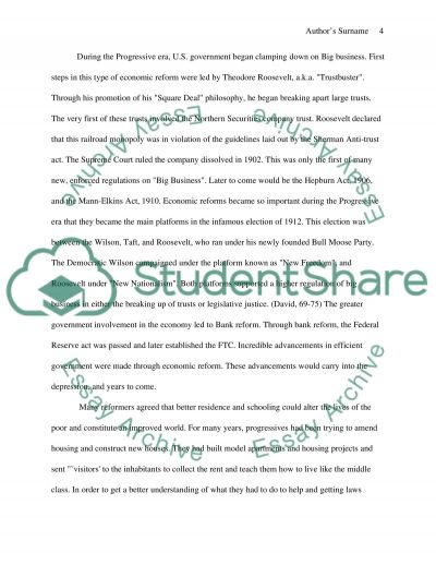 the progressive era essay example topics and well written essays text