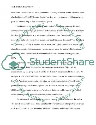 Persuasive Paper Part 1: A Problem Exists