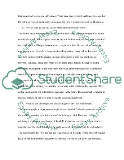 Biosocial Development Child Psychology essay example