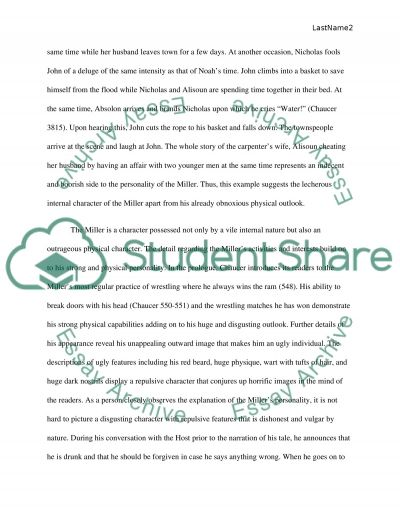 the canterbury tales writing assignment essay example topics and  the canterbury tales writing assignment essay example