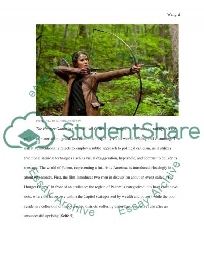 Rhetoric-in-Practice (RIP) Assignment (Movie review of The Hunger Games) Essay example