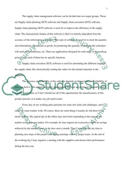 Career Development essay example