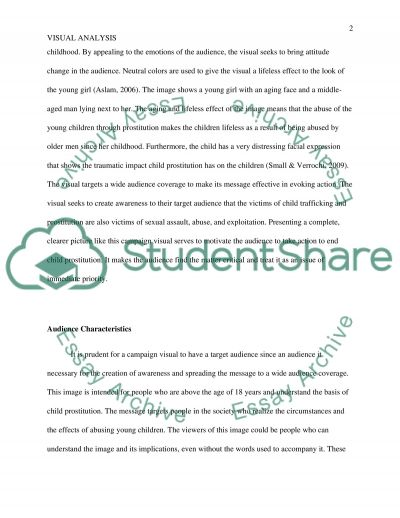 Visual analysis of an advertisement essay example