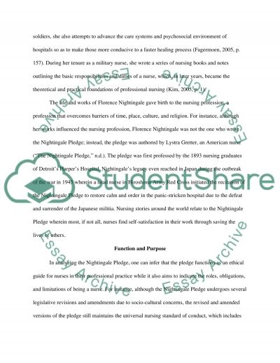 To Pledge or not to Pledge essay example