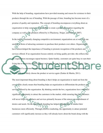 Marketing Communications essay example