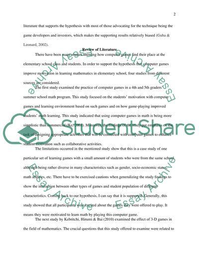 math research paper