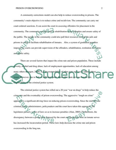 Thesis Statements For Persuasive Essays Prison Overcrowding  Essay Example Essay Writings In English also How To Make A Good Thesis Statement For An Essay Prison Overcrowding Essay Example  Topics And Well Written Essays  High School Vs College Essay