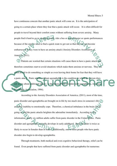 Essays of anxiety disorders