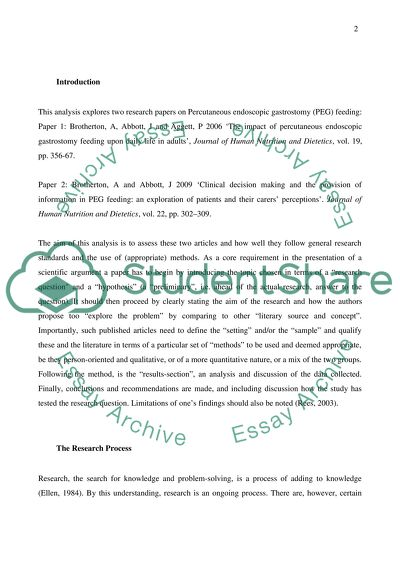 The Breakfast Club Essay  Essay In Apa Style also Correcting Essays Critical Analysis On Two Primary Research Papers Essay Essays On Life Changing Experiences
