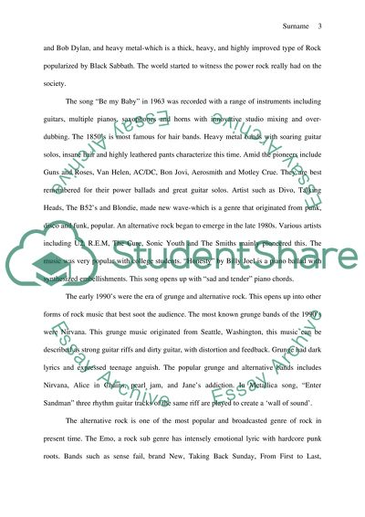 The Convergence of Two Musical Styles Essay Example | Topics and