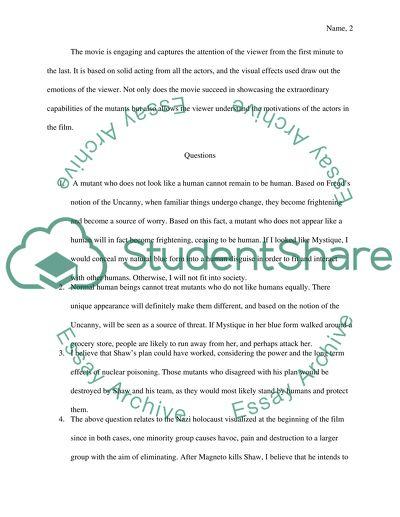 First class essays