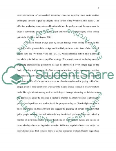 Business Management Book Review essay example