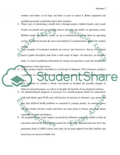 Week 2 essay example
