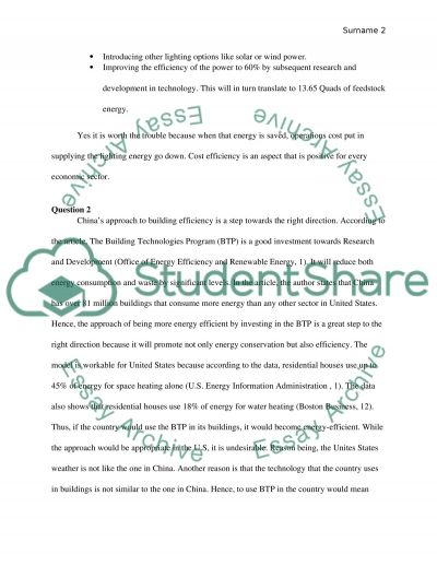 Lighting the Way to the Future essay example