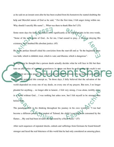 Thesis Statement For Persuasive Essay Night Elie Wiesel Thesis Statement For Friendship Essay also Example Of An Essay Proposal Night Elie Wiesel Admissionapplication Essay Example  Topics And  Thesis Statement For Argumentative Essay