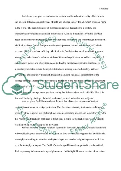 What Is Buddhism Is It A Philosophy Or Religion essay example